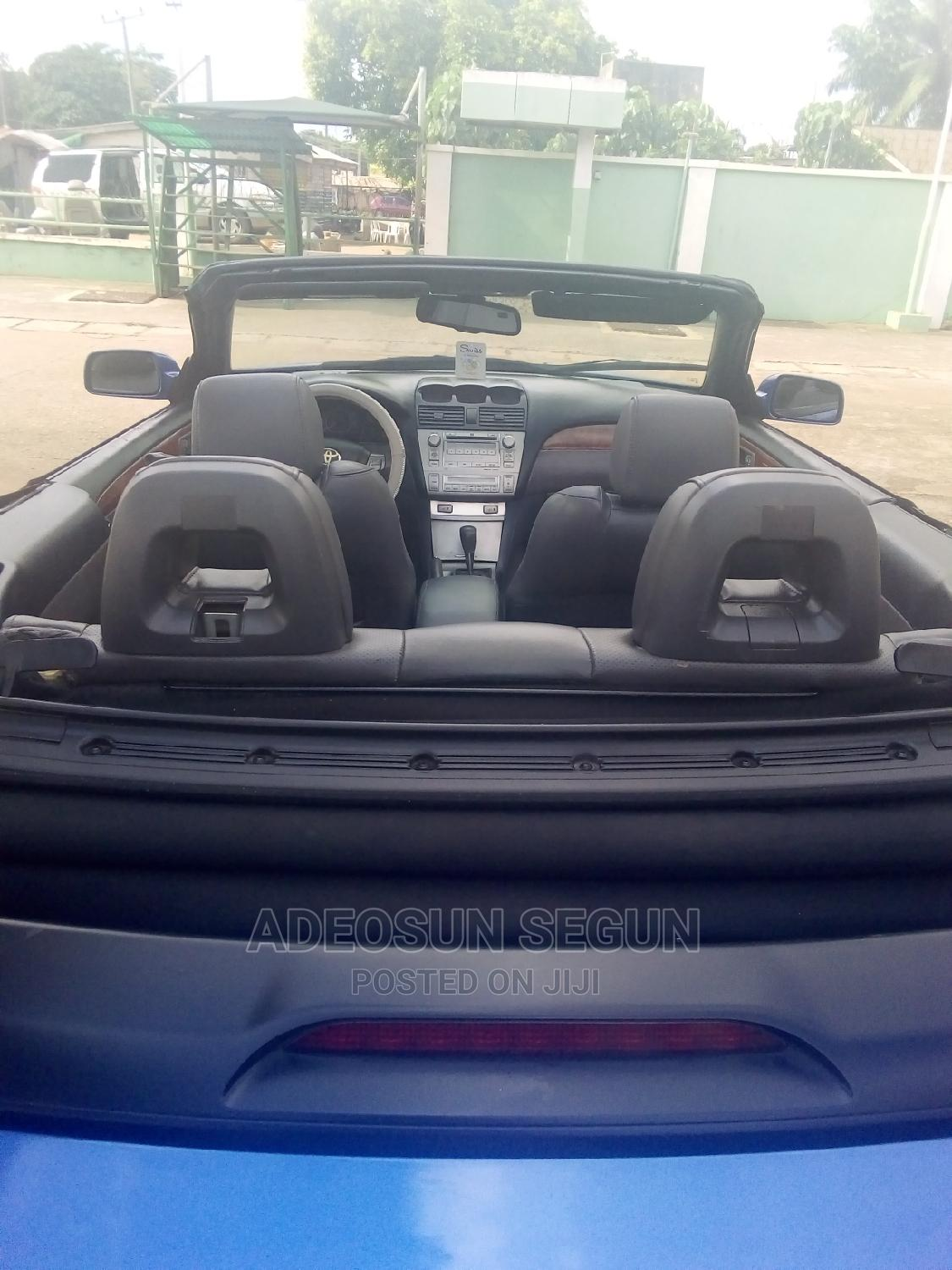 Toyota Solara 2008 3.3 Convertible Blue   Cars for sale in Abule Egba, Lagos State, Nigeria