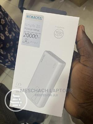 Romoss Simple 20 Power Bank 20000mah   Accessories for Mobile Phones & Tablets for sale in Lagos State, Ikeja