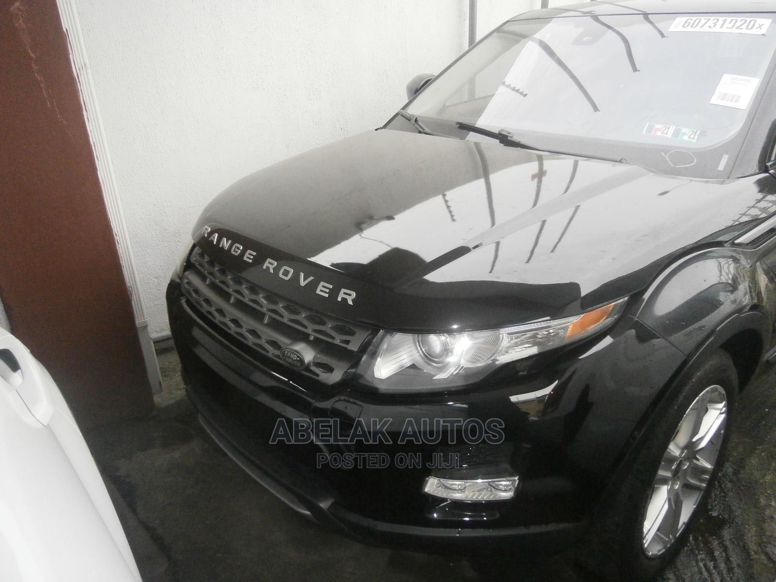 Land Rover Range Rover Evoque 2012 Black