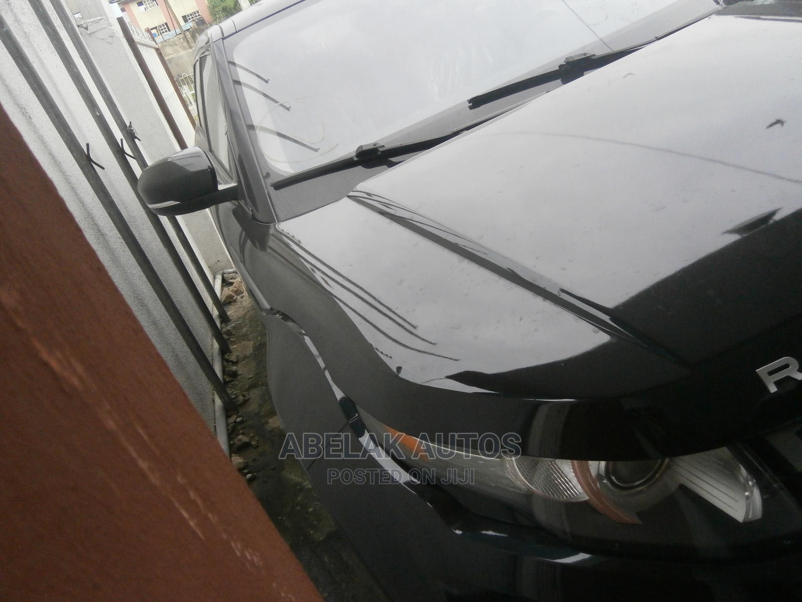 Land Rover Range Rover Evoque 2012 Black | Cars for sale in Ikeja, Lagos State, Nigeria
