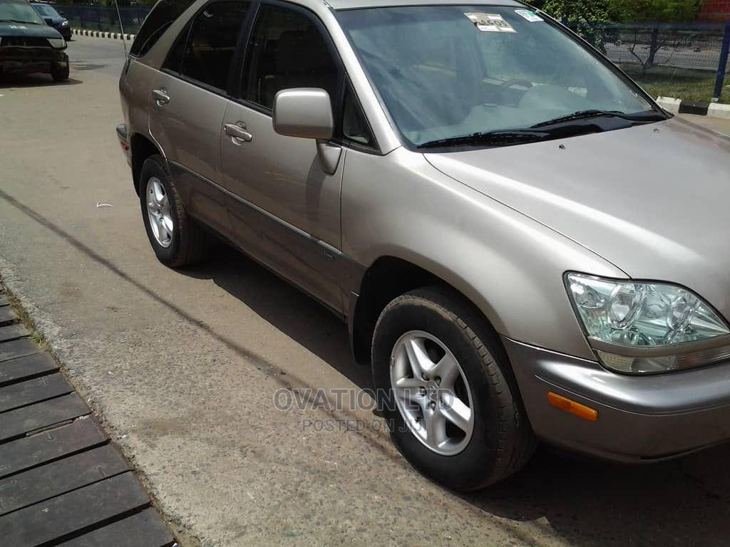 Lexus RX 2002 Gold | Cars for sale in Abule Egba, Lagos State, Nigeria