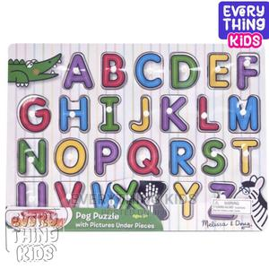 Lift and See Alphabet Peg Puzzle | Toys for sale in Lagos State, Ikeja