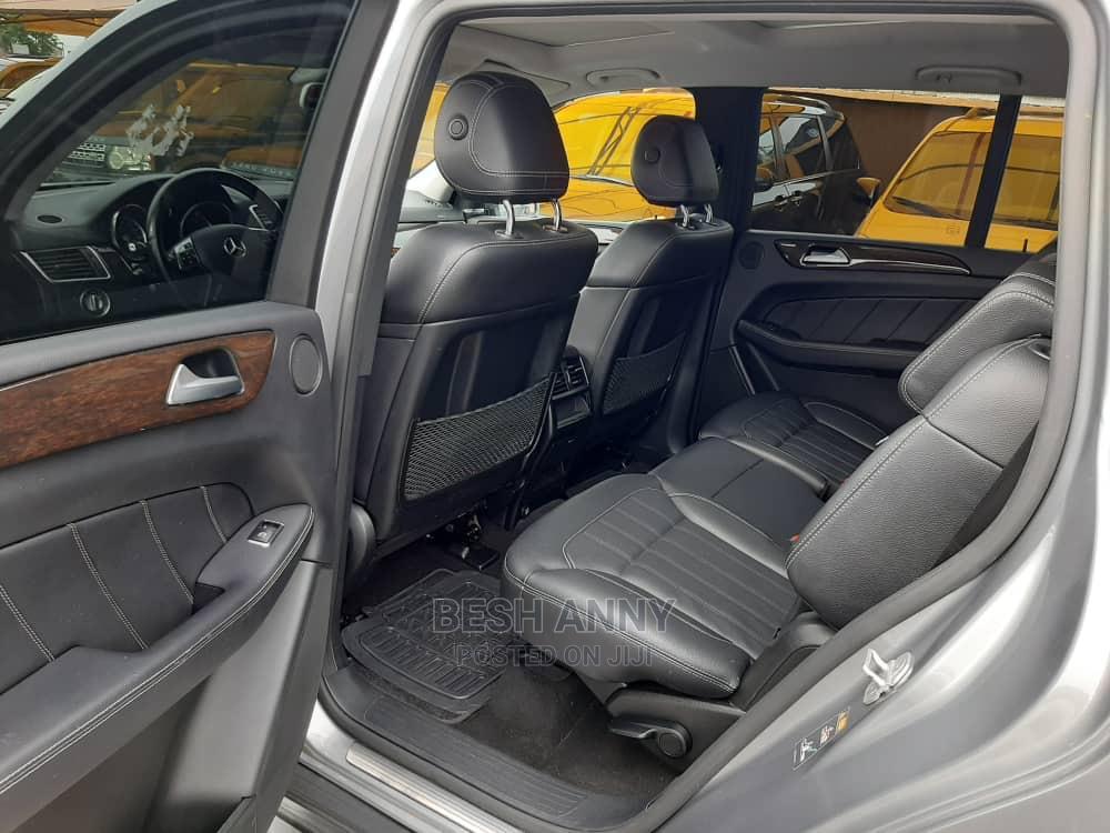 Archive: Mercedes-Benz GL Class 2015 Gray