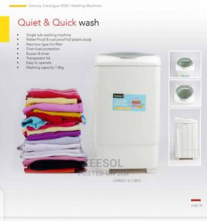 Century Single Tub Washing Machine 7.8kg | Home Appliances for sale in Oyo State, Ibadan