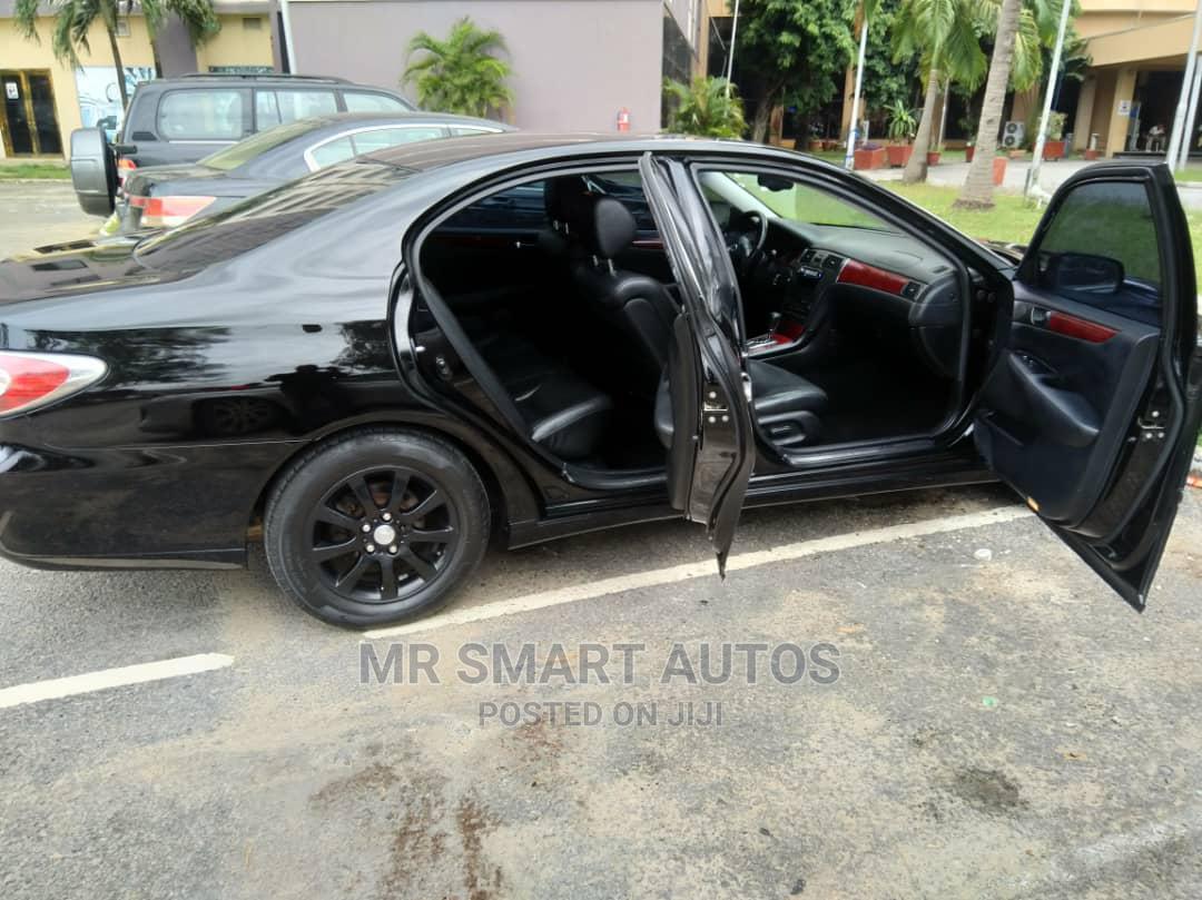 Lexus ES 2002 300 Black   Cars for sale in Amuwo-Odofin, Lagos State, Nigeria