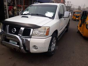 Nissan Titan 2008 King Cab LE White   Cars for sale in Lagos State, Isolo