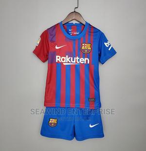 Barcelona FC Kids 2021/2022 Jersey   Children's Clothing for sale in Lagos State, Lagos Island (Eko)