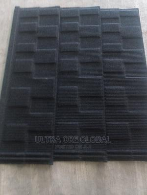 Pure Black Shingle Stone Tiles | Building Materials for sale in Lagos State, Lekki