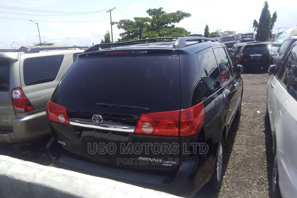 Archive: Toyota Sienna 2008 XLE Limited Black