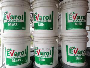 Evarol Super Quality Silk/Satin Paint   Building Materials for sale in Rivers State, Port-Harcourt
