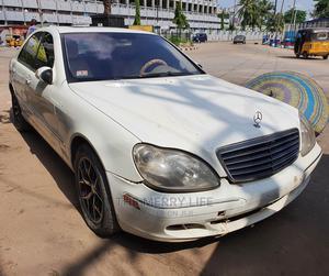 Mercedes-Benz S Class 2005 White   Cars for sale in Lagos State, Lagos Island (Eko)