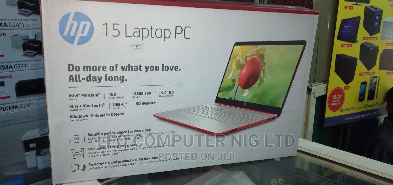 New Laptop HP 15 4GB Intel Pentium SSD 128GB