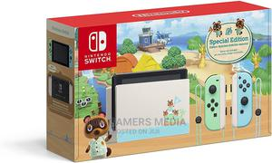 Brand New Nintendo Switch Animal Crossing Edition   Video Game Consoles for sale in Lagos State, Agege