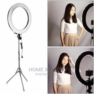 18 Inches Ring Light With Stand and Remote Control | Accessories & Supplies for Electronics for sale in Lagos State, Lagos Island (Eko)