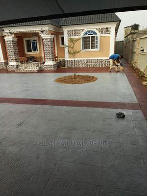 Stamped Concrete Floor/Increte   Landscaping & Gardening Services for sale in Abuja (FCT) State, Kubwa