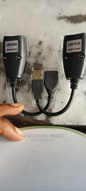 USB Rj45 Extension Adapter Up to 150 Ft Iength | Computer Accessories  for sale in Lagos State, Ikeja