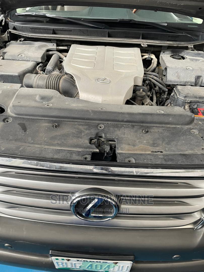 Archive: Lexus GX 2012 460 Gray