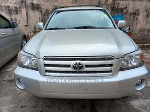 Toyota Highlander 2004 Limited V6 4x4 Silver   Cars for sale in Lagos State, Ojodu