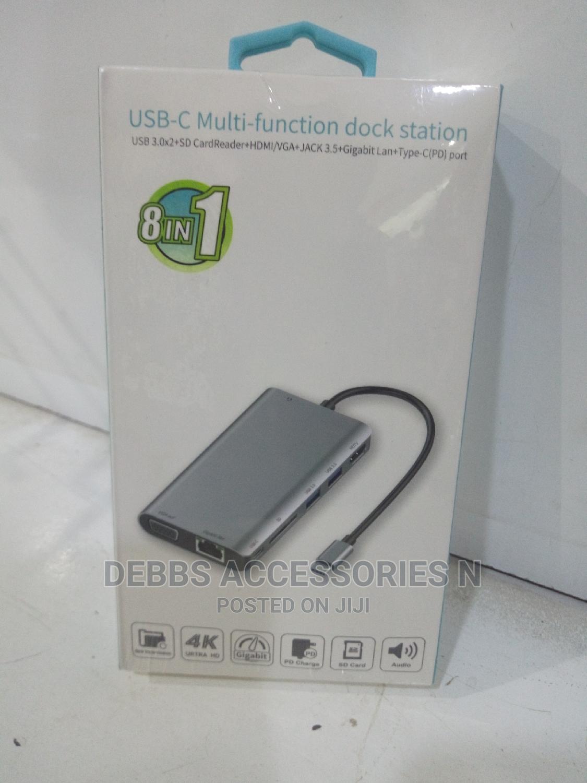 8 in 1 USB Type C Hub