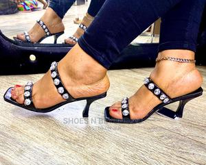 LUXURY Stoned Muless Foe Queen's | Shoes for sale in Lagos State, Lagos Island (Eko)