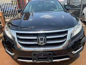 Honda Accord Crosstour 2014 EX-L W/Navigation AWD Black | Cars for sale in Lagos State, Ikeja