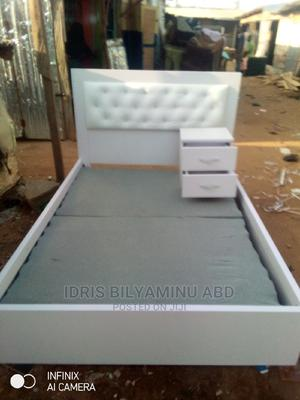 4by 6 Bed Frame With One Side Bed | Furniture for sale in Abuja (FCT) State, Lugbe District