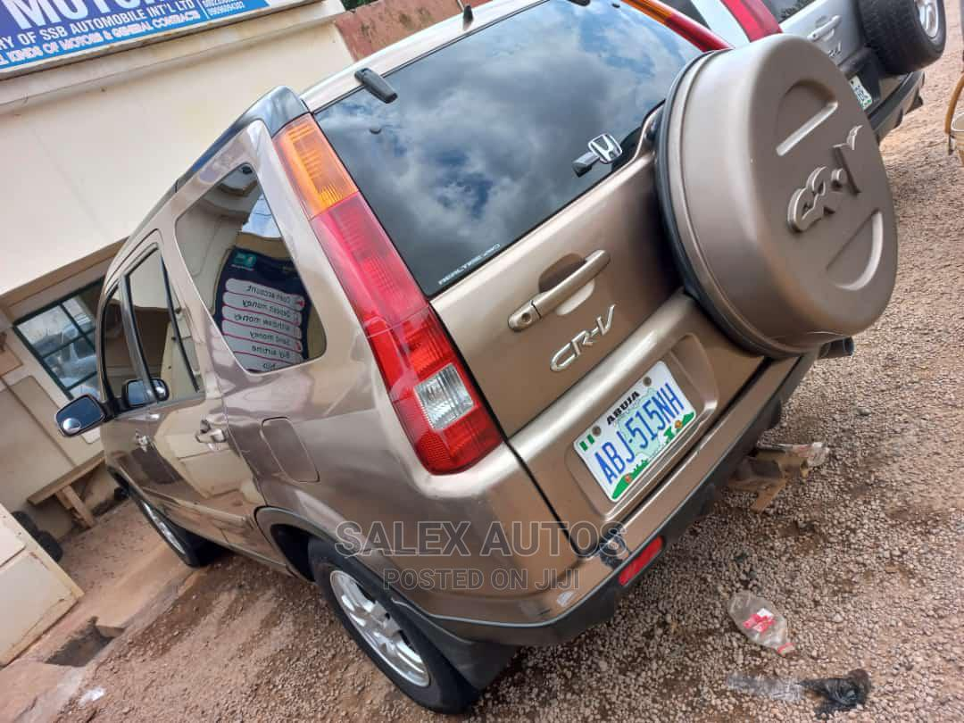 Honda CR-V 2005 Automatic Gold   Cars for sale in Kaduna / Kaduna State, Kaduna State, Nigeria