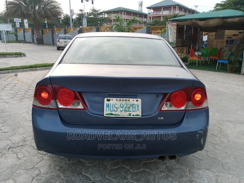 Archive: Honda Civic 2007 1.8 Sedan EX Automatic Blue