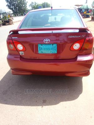 Toyota Corolla 2006 S Red | Cars for sale in Benue State, Makurdi