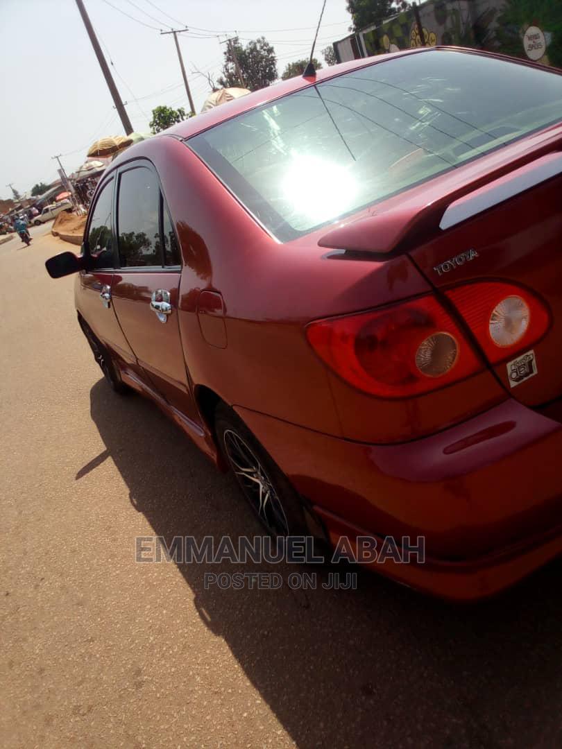 Toyota Corolla 2006 S Red   Cars for sale in Makurdi, Benue State, Nigeria