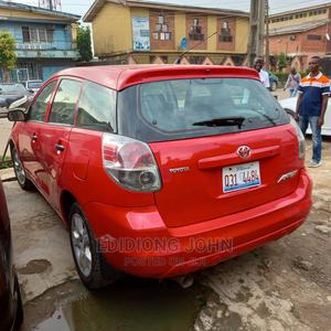 Toyota Matrix 2007 Hatchback 1.8 16V AWD Red | Cars for sale in Lagos State, Surulere