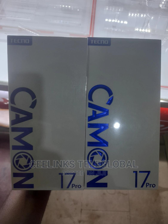 New Tecno Camon 17 Pro 256 GB Silver | Mobile Phones for sale in Ikeja, Lagos State, Nigeria