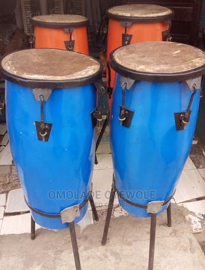 Local Konga, and Sekere or Maraca   Musical Instruments & Gear for sale in Lagos State, Agboyi/Ketu