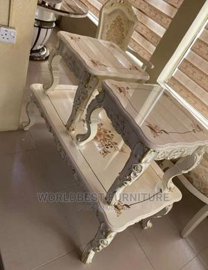 Wooden Table and Stools   Furniture for sale in Lagos State, Maryland