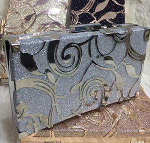 Silver Designer Clutch Purse. Classic Women's Clutch Purse | Bags for sale in Lagos State, Ikeja
