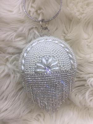 Quality Designer Ladies Clutch Purse. Silver Clutch Purse   Bags for sale in Lagos State, Ikeja