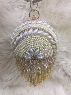 Classic Clutch Purse. Gold Designer Clutch Purse   Bags for sale in Lagos State, Ikeja