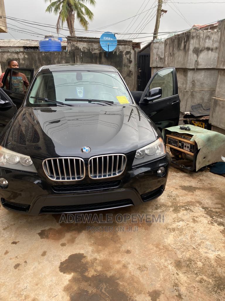BMW X3 2011 xDrive28i Black