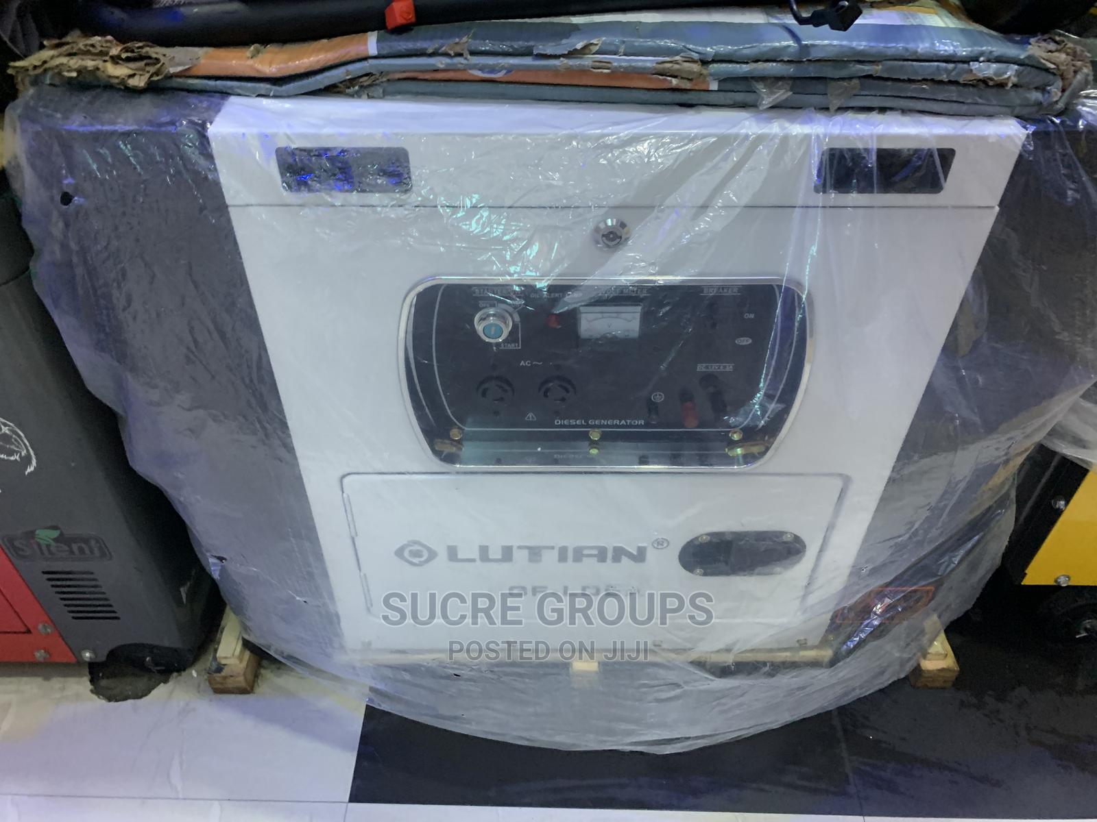 10kva Lutian Soundproof Generator