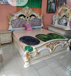 High Quality Classic Royal Bed Kings Size   Furniture for sale in Lagos State, Ikeja