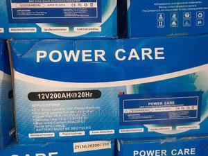 12V 200ah Power Care Solar Batteries I | Solar Energy for sale in Lagos State, Surulere