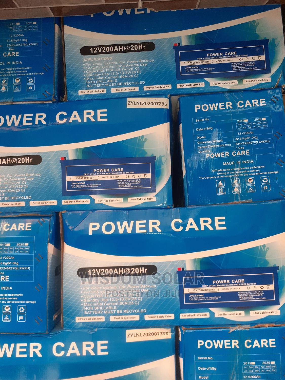Archive: 12V 200ah Power Care Solar Batteries I