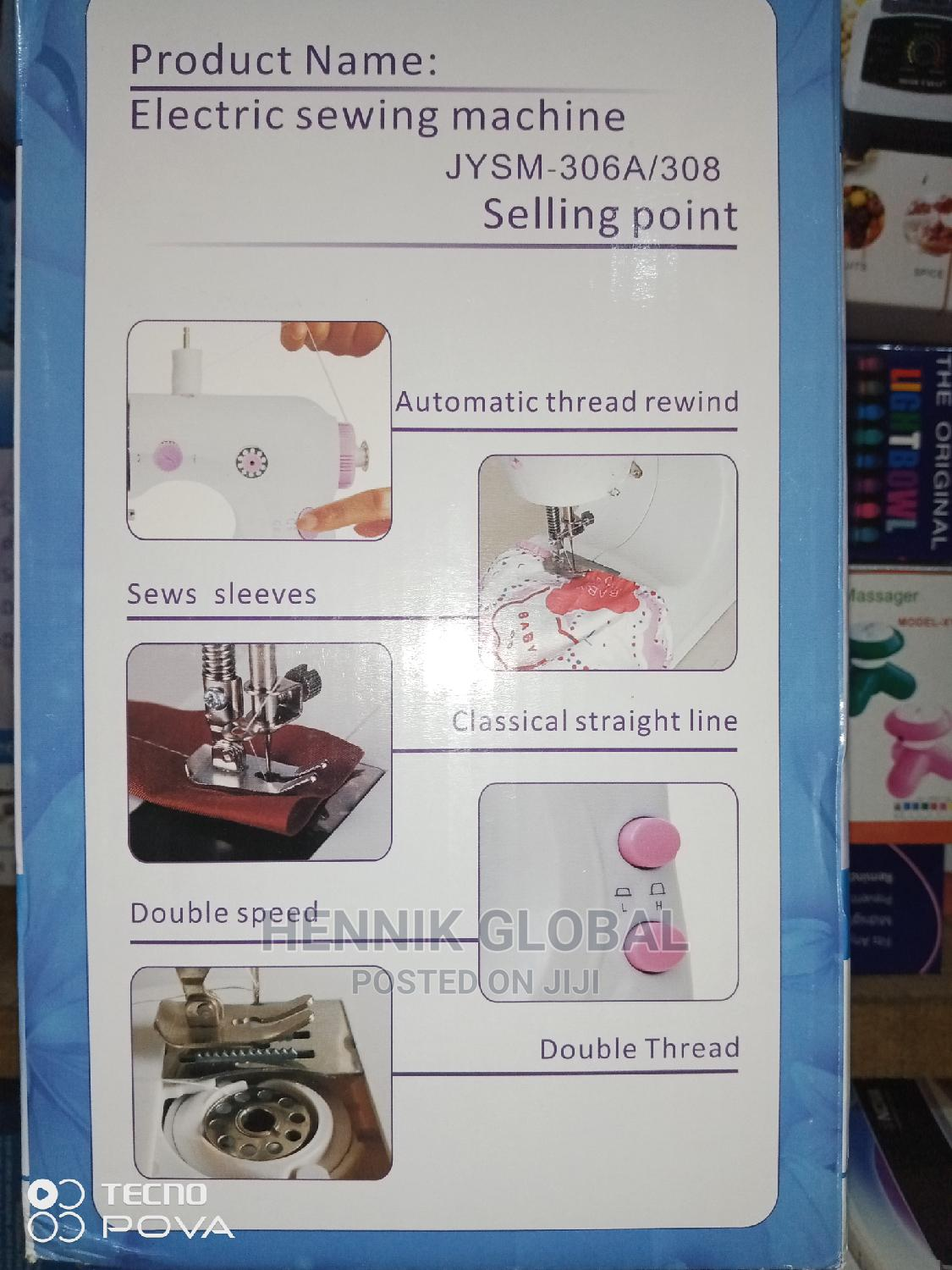 Archive: Universal Mini Sewing Machine With Double Threads,Two Spe