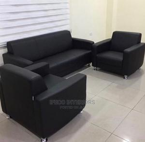 Quality Leather 5 Seaters Mini Sofa Chair | Furniture for sale in Abuja (FCT) State, Wuse