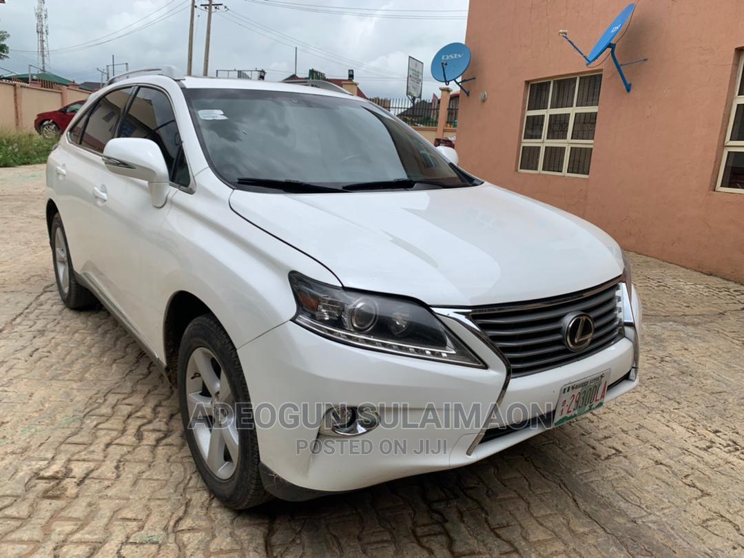Lexus RX 2015 350 AWD White | Cars for sale in Ibadan, Oyo State, Nigeria
