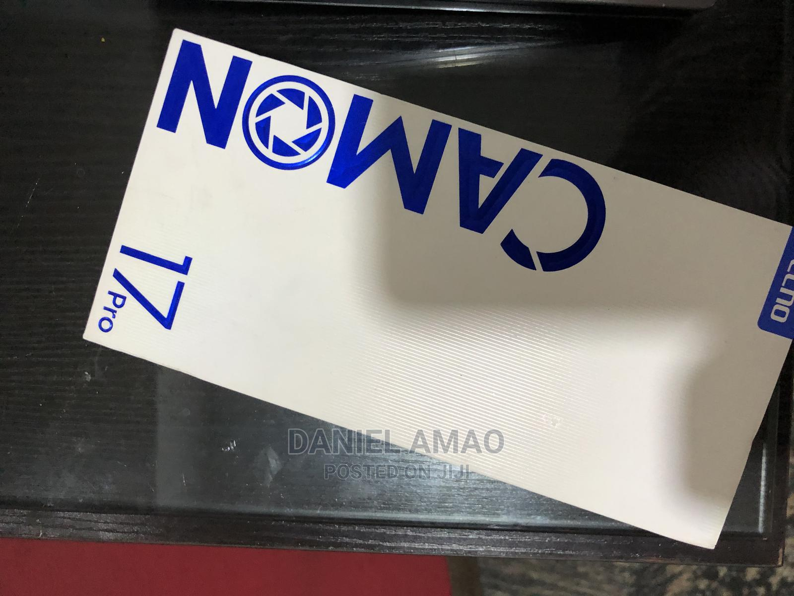 Archive: New Tecno Camon 17 Pro 256 GB Blue