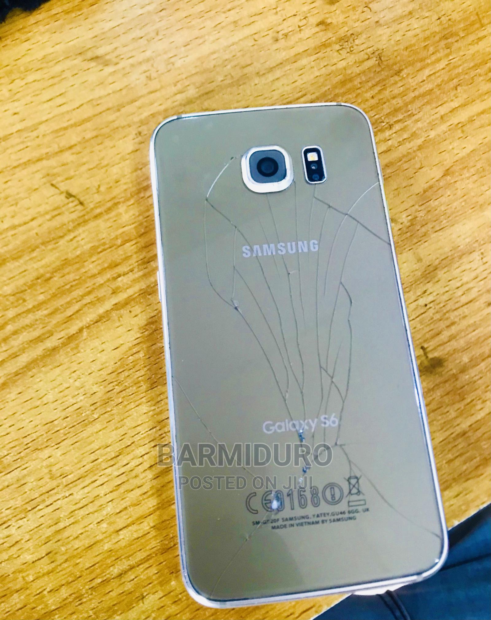 Samsung Galaxy S6 Plus 32 GB Gold   Mobile Phones for sale in Osogbo, Osun State, Nigeria