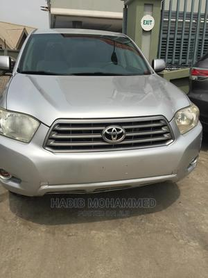 Toyota Highlander 2008 4x4 Gray   Cars for sale in Delta State, Oshimili South