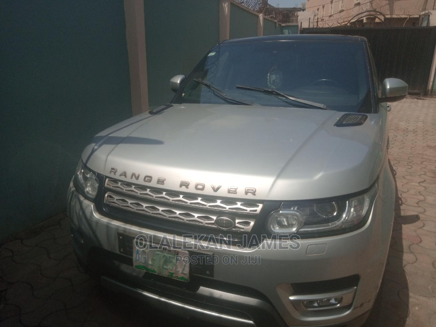 Land Rover Range Rover Sport 2014 HSE 4x4 (3.0L 6cyl 8A) Silver | Cars for sale in Alimosho, Lagos State, Nigeria