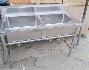 Double Bowl Sink   Restaurant & Catering Equipment for sale in Lagos State, Lagos Island (Eko)